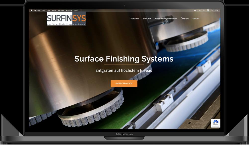 Surfinsys Webprojekt